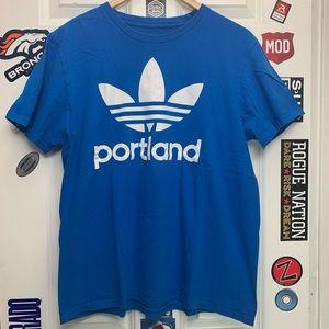 Adidas Portland graphic logo tee